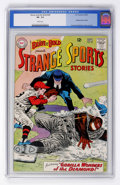 Silver Age (1956-1969):Adventure, The Brave and the Bold #49 Strange Sports Stories (DC, 1963) CGC VF- 7.5 White pages....