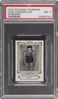 Miscellaneous Collectibles:General, 1926 Spalding Champions John Weissmuller PSA NM 7....
