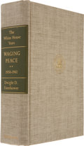 Autographs:U.S. Presidents, Dwight Eisenhower Signed Copy of The White House Years: WagingPeace, 1956-1961. Garden City, New York: Doubleda...