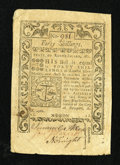Colonial Notes:Rhode Island, Rhode Island May 1786 40s Very Fine+....