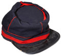 "Military & Patriotic:Civil War, Extra Tall ""Zouave"" Style Civil War Chasseur Cap...."