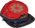 Military & Patriotic:Civil War, Highly Attractive Gold Trimmed Cavalry Officer's Chasseur Cap....