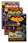 Bronze Age (1970-1979):Horror, Tomb of Dracula Group (Marvel, 1972-76) Condition: Average VF+....(Total: 39 Comic Books)