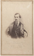 Photography:CDVs, Intriguing E & H. T. Anthony Carte de Visite of John Wilkes Booth....