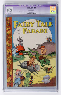 Four Color #69 Fairy Tale Parade (Dell, 1945) CGC Apparent NM- 9.2 Slight (A) Off-white pages