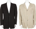 Movie/TV Memorabilia:Costumes, Ernie Kovacs' Sports Jackets.... (Total: 2 Items)