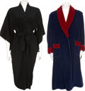 Movie/TV Memorabilia:Costumes, Erie Kovacs' and Edie Adams' Robes.... (Total: 2 Items)
