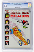 Bronze Age (1970-1979):Cartoon Character, Richie Rich Millions #41 File Copy (Harvey, 1970) CGC NM 9.4Off-white to white pages....