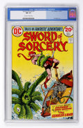 Bronze Age (1970-1979):Adventure, Sword of Sorcery #5 (DC, 1973) CGC NM 9.4 Off-white to white pages....
