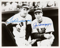 Autographs:Photos, 1990's Ted Williams & Joe DiMaggio Signed Photograph....
