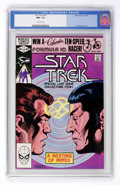 Modern Age (1980-Present):Science Fiction, Star Trek #18 (Marvel, 1982) CGC NM+ 9.6 Off-white pages....