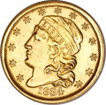 Early Quarter Eagles, 1834 $2 1/2 Capped Bust--Damaged--NCS. AU Details....