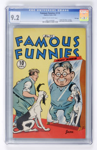 Famous Funnies #119 File Copy (Eastern Color, 1944) CGC NM- 9.2 Cream to off-white pages