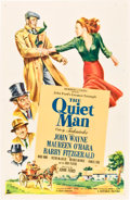 """Movie Posters:Drama, The Quiet Man (Republic, 1952). One Sheet (27"""" X 41"""").. ..."""