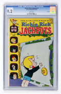 Bronze Age (1970-1979):Humor, Richie Rich Jackpots #1 White pages (Harvey, 1972) CGC NM- 9.2White pages....