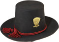 "Military & Patriotic:Civil War, Exceptional Condition ""Hardee Hat"" with Artillery Trim...."