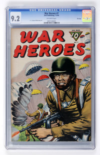 War Heroes #7 File Copy (Dell, 1944) CGC NM- 9.2 Off-white pages