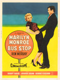 "Movie Posters:Drama, Bus Stop (20th Century Fox, 1956). Poster (30"" X 40"") Style Z.. ..."