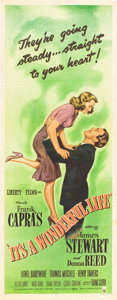 "Movie Posters:Drama, It's a Wonderful Life (RKO, 1946). Insert (14"" X 36"").. ..."