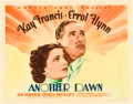 "Movie Posters:Drama, Another Dawn (Warner Brothers, 1937). Half Sheet (22"" X 28"") StyleB.. ..."