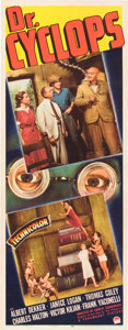 "Movie Posters:Horror, Doctor Cyclops (Paramount, 1940). Insert (14"" X 36"").. ..."