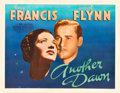 """Movie Posters:Drama, Another Dawn (Warner Brothers, 1937). Half Sheet (22"""" X 28"""") Style A.. ..."""