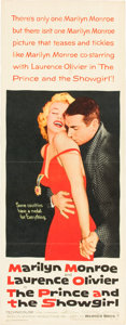 "Movie Posters:Romance, The Prince and the Showgirl (Warner Brothers, 1957). Insert (14"" X36"").. ..."