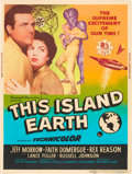 "Movie Posters:Science Fiction, This Island Earth (Universal International, 1955). Poster (30"" X40"") Style Z.. ..."