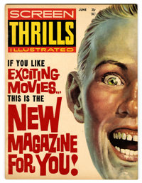 Screen Thrills Illustrated #1 (Warren, 1962) Condition: VF-