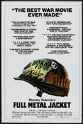 """Movie Posters:War, Full Metal Jacket (Warner Brothers, 1987). One Sheet (27"""" X 41"""")Review Style. War.. ..."""