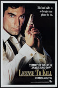 "Movie Posters:James Bond, License to Kill (United Artists, 1989). One Sheet (27"" X 41"").James Bond.. ..."