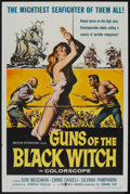 "Movie Posters:Adventure, Guns of the Black Witch (American International, 1961). One Sheet (27"" X 41""). Adventure.. ..."