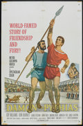 "Movie Posters:Adventure, Damon and Pythias (MGM, 1962). One Sheet (27"" X 41""). Adventure....."