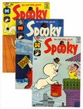 Silver Age (1956-1969):Humor, Spooky File Copies Group (Harvey, 1957-76) Condition: NM-.... (Total: 53 Comic Books)