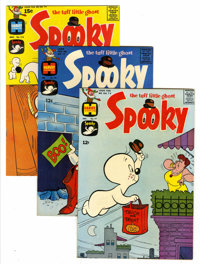 Spooky File Copies Group (Harvey, 1957-76) Condition: NM-.... (Total: 53 Comic Books)