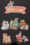 "Movie Posters:Animated, Robin Hood (Buena Vista, 1973). Mobile (12"" X 15""). Animated.. ..."