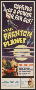 "Movie Posters:Science Fiction, The Phantom Planet (Four Crown, 1962). Insert (14"" X 36""). ScienceFiction.. ..."