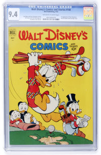 Walt Disney's Comics and Stories #140 (Dell, 1952) CGC NM 9.4 Off-white to white pages