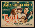 "Movie Posters:Adventure, Torrid Zone (Warner Brothers, 1940 and R-1943). Lobby Card andTitle Lobby Card (11"" X 14""). Adventure.. ... (Total: 2 Items)"