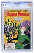 Silver Age (1956-1969):Adventure, Doom Patrol #87 (DC, 1964) CGC FN/VF 7.0 Off-white pages....