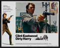 "Movie Posters:Crime, Dirty Harry (Warner Brothers, 1971). Lobby Card Set of 8 (11"" X 14""). Crime.. ... (Total: 8 Items)"