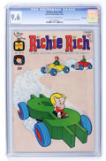 Silver Age (1956-1969):Humor, Richie Rich #59 File Copy (Harvey, 1967) CGC NM+ 9.6 Off-white to white pages....