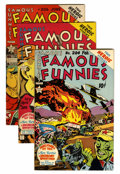 Golden Age (1938-1955):Miscellaneous, Famous Funnies #204-208 File Copies Group (Eastern Color, 1953) Condition: Average VF/NM.... (Total: 5 Comic Books)