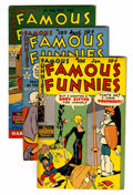 Golden Age (1938-1955):Miscellaneous, Famous Funnies File Copies Group (Eastern Color, 1950) Condition: Average VF/NM.... (Total: 5 Comic Books)