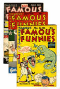 Golden Age (1938-1955):Miscellaneous, Famous Funnies File Copies Group (Eastern Color, 1949) Condition: Average VF/NM.... (Total: 5 Comic Books)