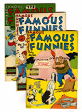 Golden Age (1938-1955):Miscellaneous, Famous Funnies File Copies Group (Eastern Color, 1948-49) Condition: Average VF/NM.... (Total: 5 Comic Books)