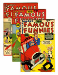 Golden Age (1938-1955):Miscellaneous, Famous Funnies File Copies Group (Eastern Color, 1947-48) Condition: Average VF/NM.... (Total: 5 Comic Books)