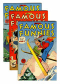 Golden Age (1938-1955):Miscellaneous, Famous Funnies File Copies Group (Eastern Color, 1945-46) Condition: Average VF/NM.... (Total: 4 Comic Books)