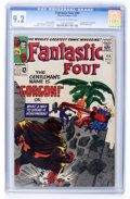 Silver Age (1956-1969):Superhero, Fantastic Four #44 (Marvel, 1965) CGC NM- 9.2 Off-white to white pages....