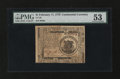 Colonial Notes:Continental Congress Issues, Continental Currency February 17, 1776 $1 PMG About Uncirculated53....